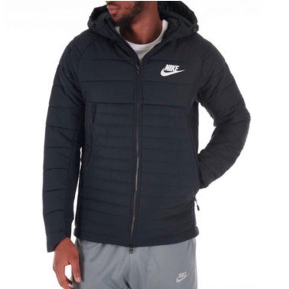infierno adiós Revelar  Nike Jackets & Coats | Nike Av5 Quilted Jacket | Poshmark